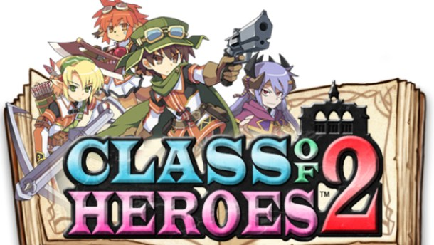 Class of Heroes 2 logo