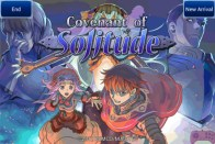 Covenant of Solitude—Title screen