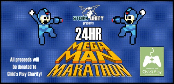 mega man charity event