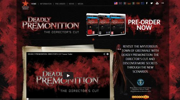 Deadly Premonition: The Director's Cut Logo