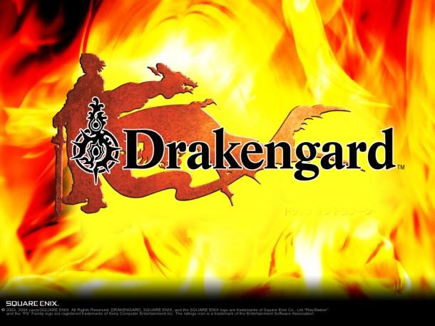 Original Drakengard logo. Drakengard 3 is under development.