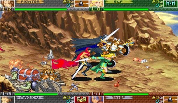 Capcom Dungeons & Dragons