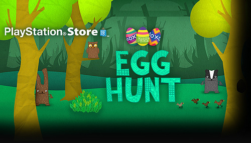 Playstation Store egg hunt