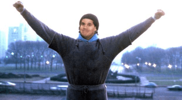 Reggie as Rocky | Media Create