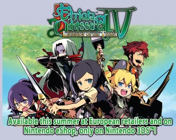 Etrian Odyssey IV | European Announcement