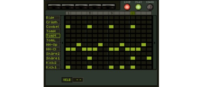 KORG M01D | Screenshot