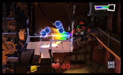 Luigi's Mansion: Dark Moon Screenshot