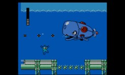 Mega Man 4 (3DS Virtual Console) | Dive Man's stage