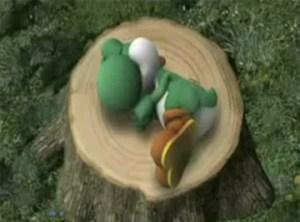 Sleeping Yoshi
