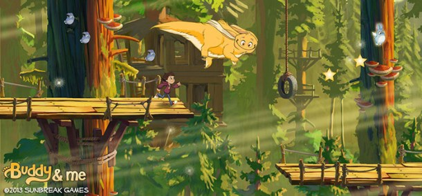 buddy and me treehouse platform