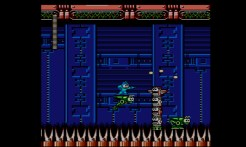 Mega Man 4 (3DS Virtual Console) | Bright Man's stage