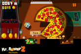 mr runner 2 pizza pacman