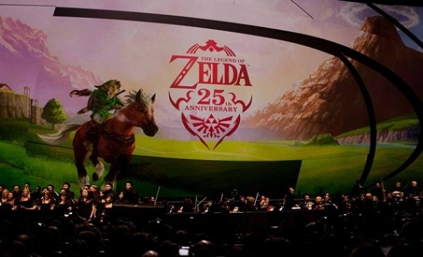 zelda symphony of goddesses 25 years