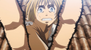 Attack on Titan Armin saved by Eren