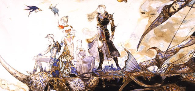 Final Fantasy V Amano Illustration | Oprainfall