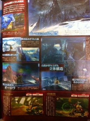 Monster Hunter 4 | Frozen Sea (Famitsu scan)