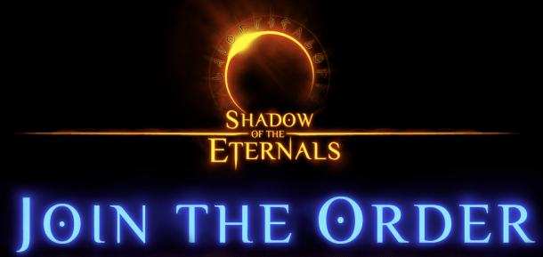 Shadow of the Eternals Logo - Join the Order Eternal Darkness successor