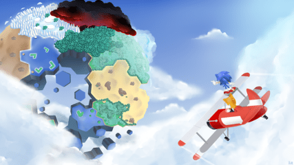Sonic Lost Worlds Screenshot - Sonic and Tails