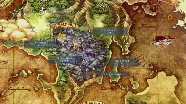 Time and Eternity | World map