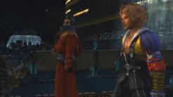 Final Fantasy X Auron and Tidus