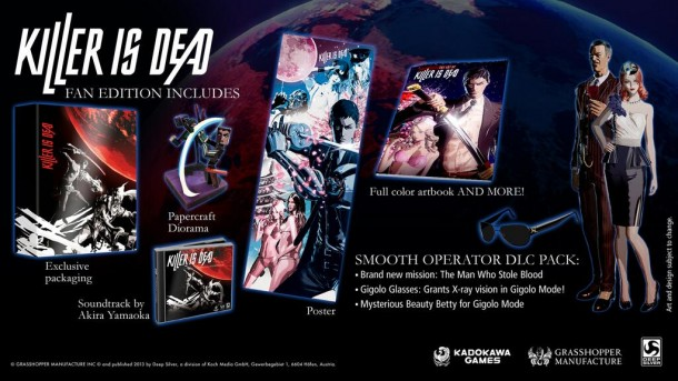 Killer is Dead Euro - Limited Edition