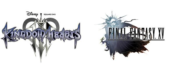 Kingdom Hearts III and Final Fantasy XV Logo