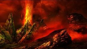 MH4 Screens - Volcanic Terrain