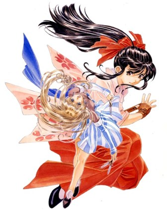 Sakura Wars Movie Sakura and Ratchet