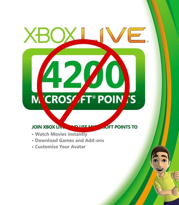 Xbox Live Microsoft Points