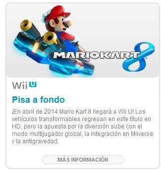 Mario Kart 8 - Spring 2014