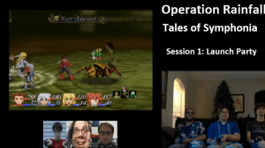 Tales of Symphonia stream | Early battle