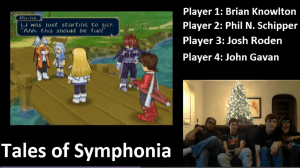 Tales of Symphonia Stream: Washtub scene