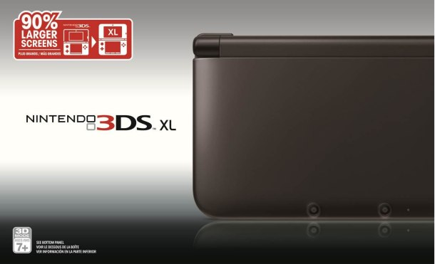 Black 3DS XL - Media Create | oprainfall