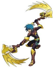 Gaist Crusher: Character Art 001
