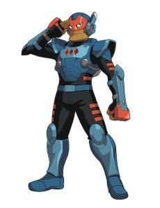 Gaist Crusher: Character Art 004