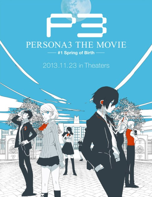 Persona 3 the Movie #1: Spring of Birth Poster