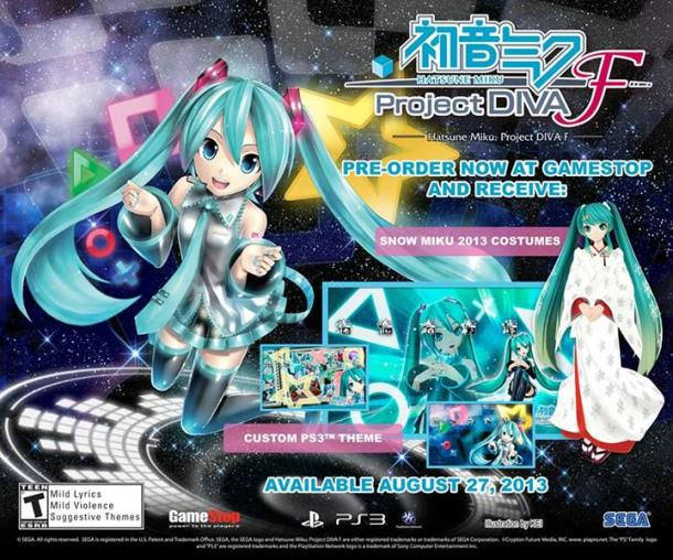 Project Diva F | Gamestop