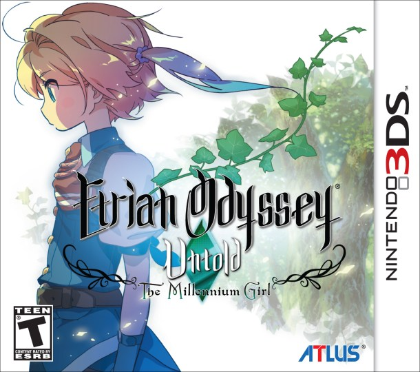Etrian Odyssey Untold: The Millennium Girl - Cover