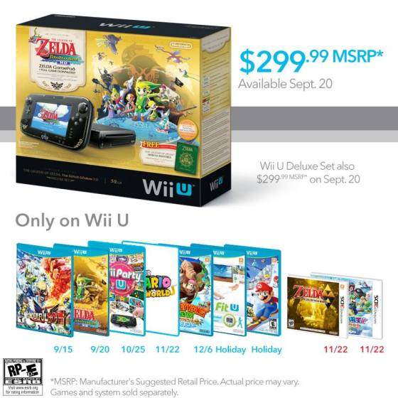 The Wind Waker HD Wii U Bundle Advertisement