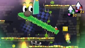 Mario & Luigi Dream Team - Mustache Grab