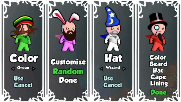 Cloudberry Kingdom | Customization