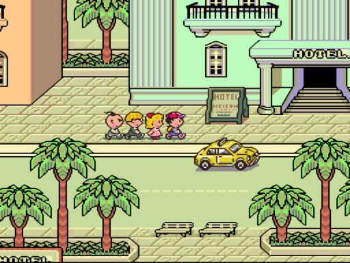 Earthbound - Ness and Friends in Summers | oprainfall's Top Gaming Moments of 2013