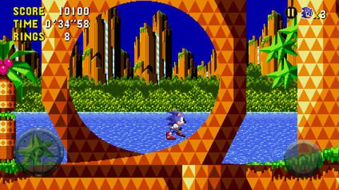 Sonic CD OUYA - oprainfall