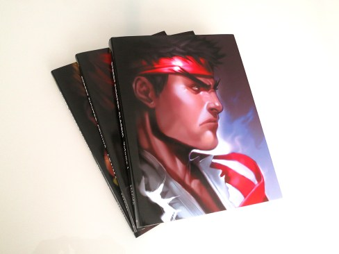 UDON Entertainment - Street Fighter Classic Comic-Con Book - oprainfall