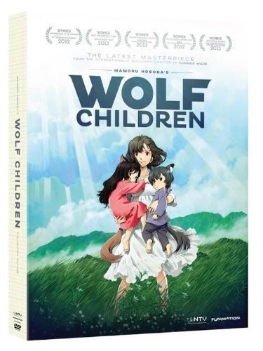 FUNimation I Wolf Children DVD