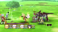 Tales of Symphonia | Colette in Rita Costume Attacking Monster