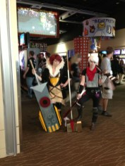 Red (Transistor) and the Kid (Bastion)