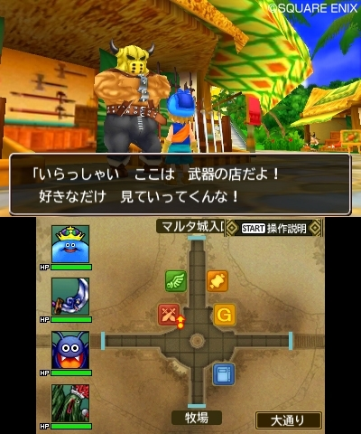Dragon Quest Monsters  2 Castle Town
