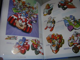 Mega Man Battle & Chase characters
