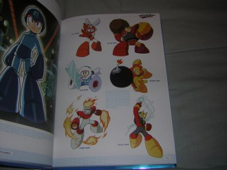Rockman Complete Works character redesigns